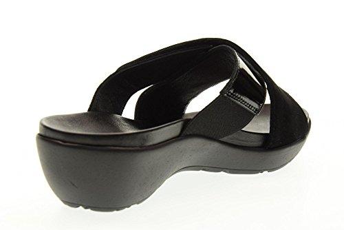 VALLEVERDE pantoufles dame chaussures G51170 NOIR Black