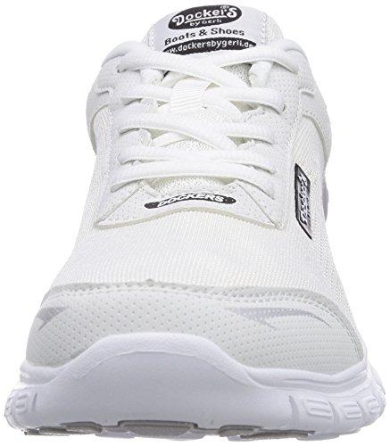 Dockers by Gerli 36VN201-700900 Damen Sneakers Weiß (weiss 500)