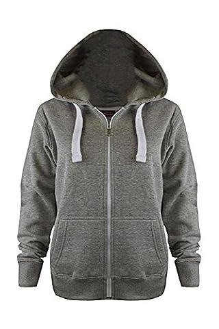 Vanilla Inc - Sweat-shirt à capuche - Fille - noir -