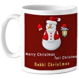 TIED RIBBONS Sabki Christmas Printed Coffee Mug(320 ml) Christmas Gift Set for Office Colleague, Sister, Friends and Office, Home Decoration