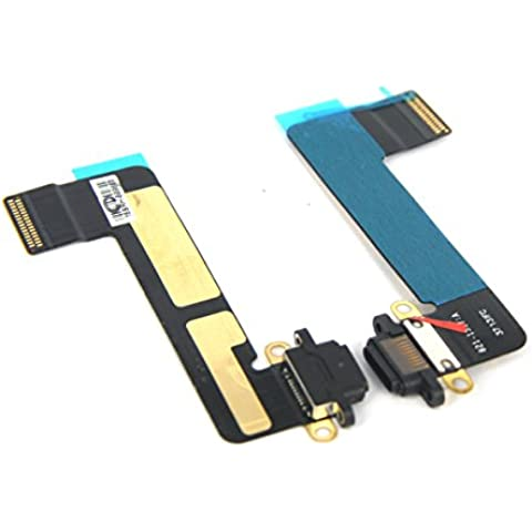 U-demand Carica carica Port Dock Connector Flex Cable Replacement per iPad Mini -Nero