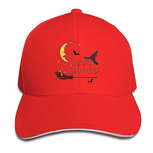 Men's Athletic Baseball Fitted Cap Hat Halloween Durable Baseball Cap Hats Adjustable Peaked Trucker Cap JH4403