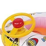 HARRYSTORE Cartoon Lenkrad Schwimmring Float Sitz Boot Baby Ring Pool Schwimmen Aufblasbare Schwimmen Sicher Floß Kid Wasser Auto Vergleich
