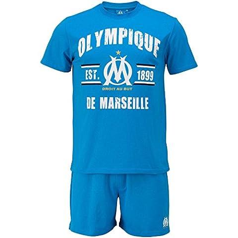 Pyjashort OM - Collection officielle Olympique de MARSEILLE - Taille