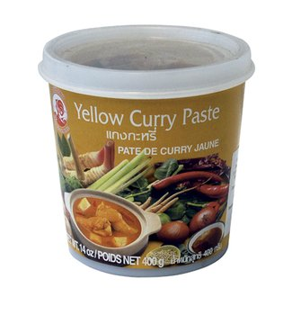 Cock Brand - Gelbe Currypaste - 400g