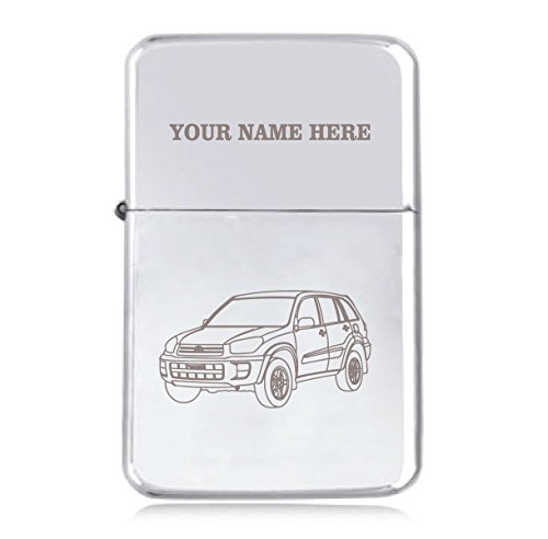 toyota-rav4-design-personalised-star-windproof-petrol-lighter