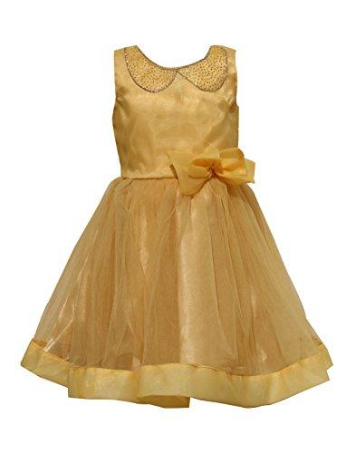 Priyank Baby Girls' Dress (1040Mango16_1-2 years)