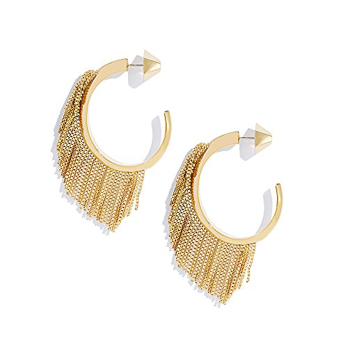 sarah-magid-yellow-gold-plated-electric-fringe-hoops