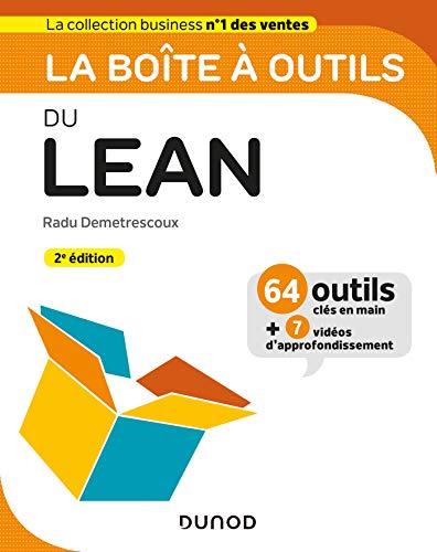 La boîte à outils du Lean - 2e éd. par  Radu Demetrescoux