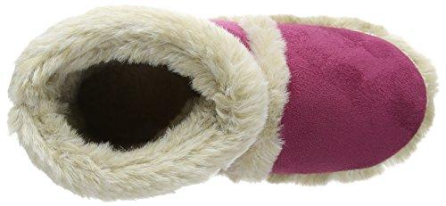 Bordure en Chaussons Rose Pointures Coolers en fourrure microsuède FxSBqw6wa