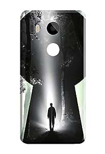 LG Nexus 5X Back Cover, Premium Quality Designer Printed 3D Lightweight Slim Matte Finish Hard Case Back Cover for LG Nexus 5X by Tamah