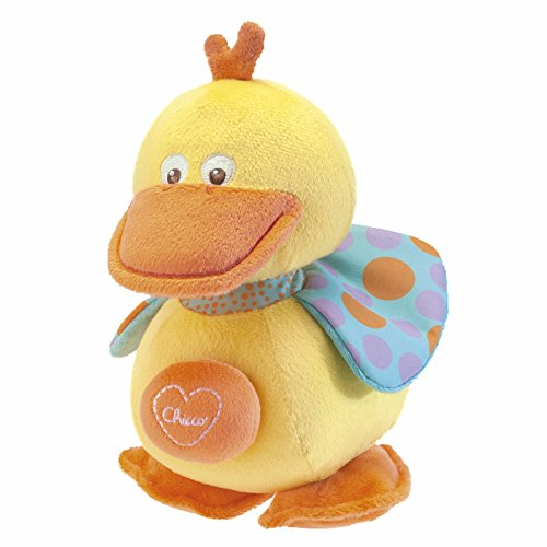 "Amazon Chicco - Peluche musical ""Happy Colors"", patitto (00005378000000)"