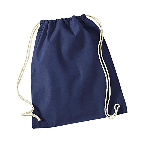 Westford Mill - Cotton Gymsac / French Navy, 46 x 36 cm