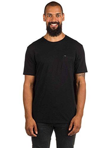 O' Neill Jacks base Reg Fit Streetwear Tees Shirts, Uomo, Jacks base reg fit, nero, XS nero
