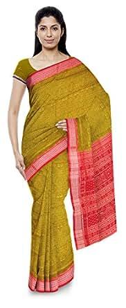Odisha Saree Cotton Saree (An55_Green)