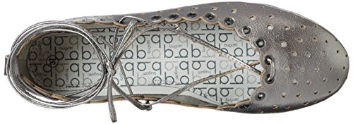 Bugatti J06791l, Ballerine Donna Argento (Altsilber 801)