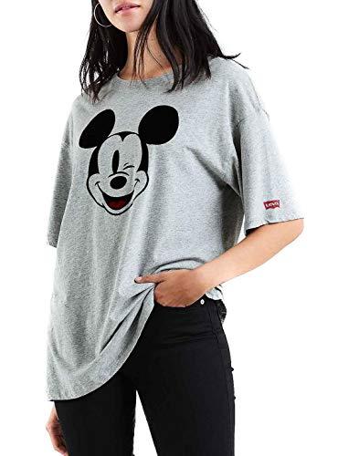 Levis Wmn TS Oversize Slacker Mickey Gre Größe: S Farbe: Grey -
