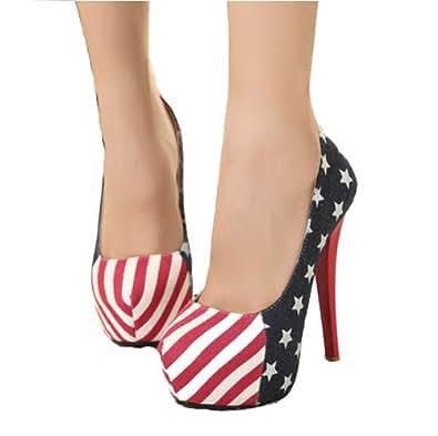 sch ne schuhe frauen american flag mode m dchen american. Black Bedroom Furniture Sets. Home Design Ideas