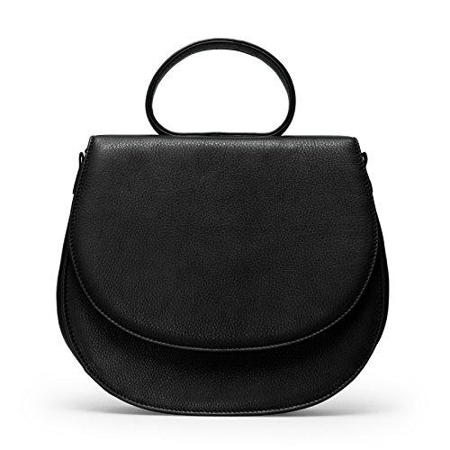 Gretchen - Ebony Loop Bag Two - Midnight Black -