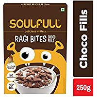 Soulfull Ragi Bites, Choco Fills- No Maida, High Calcium, 250g