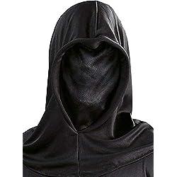 Capucha negra tela