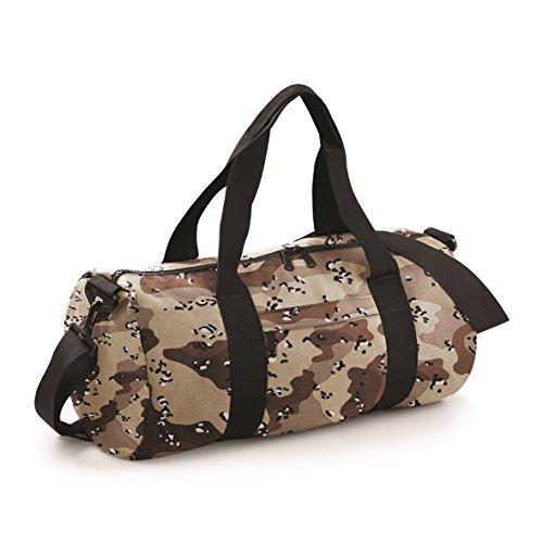 BagBase Camo Barrel Bag Jungle Camo