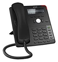 SNOM D712 Desk VoIP/SIP Telephone, Display with backlight, Ethernet switch, Sensor hook switch, 4 SIP identities, IPv6; 4353