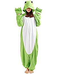 CuteOn Adulto Unisexo Animal Onesies Kigurumi Pijamas Ropa de Dormir Trajes Homewear Mono con Capucha Tamaño S-XL