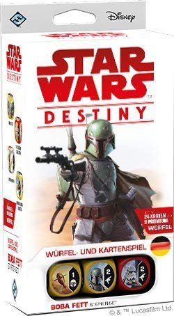 Fantasy Flight Games ffgd3207Star Wars: Destiny-Boba Fett Starter de Juego
