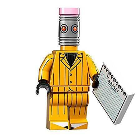 LEGO 71017 Minifigures Serie LEGO BATMAN MOVIE - THE ERASER Mini Action Figure