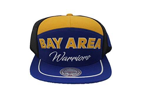 Mitchell & Ness Golden State Warriors City Heat Trucker Mesh Verstellbarer Snapback Hat Usa-mesh-hut