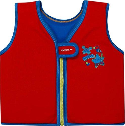 Speedo Sea Squad Kids Swim Vest Junior Pool Training schwimmen lernen Schwimmen Top, blau