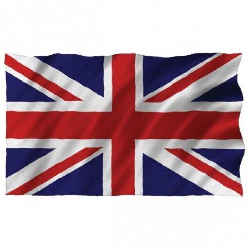 Naisdier UK Fahne England Union Jack Flagge [90x150cm] Wetterfest AZ Flag