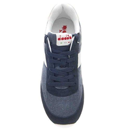 Diadora Unisex Adulto Jog Light C Sneaker Collo Basso Blu