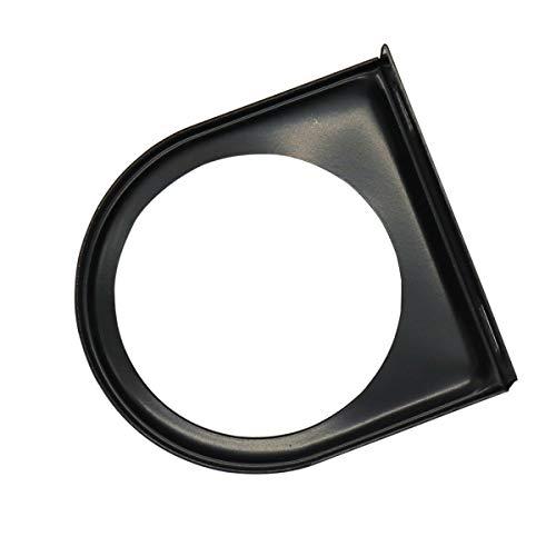 Vosarea 52mm Einzel-Messinstrument-Cup Holder Bracket Iron Dash Mount (Schwarz) -