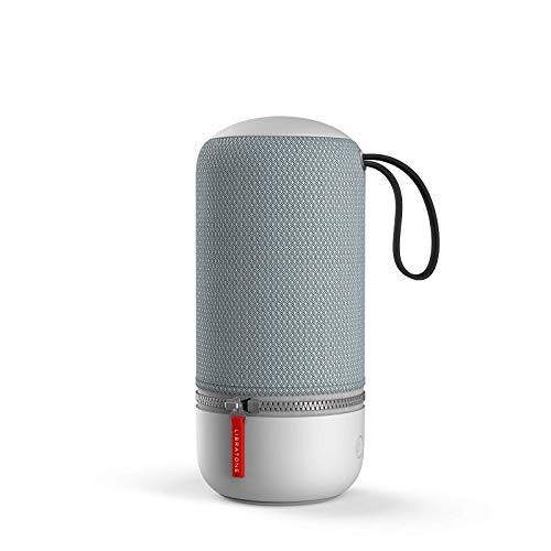 Libratone ZIPP MINI 2 Smart Wireless Lautsprecher (Alexa Integration, AirPlay 2, MultiRoom, 360° Sound, Wlan, Bluetooth, Spotify Connect, 12 Std. Akku) frosty grey