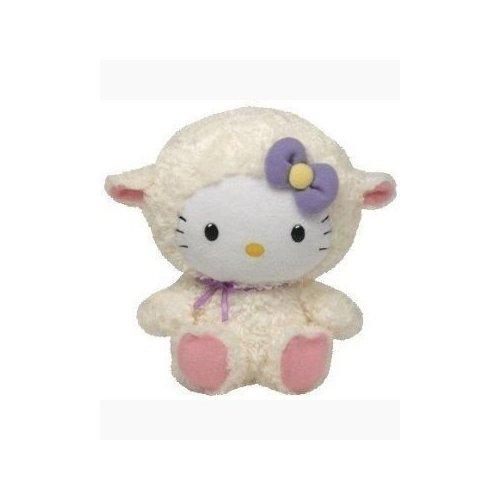 Ty Beanie-Freund-hallo Miezekatze-Lamm-Klage (groß) (Beanie Babies Lamm)