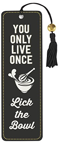 You Only Live Once Beaded Bookmark