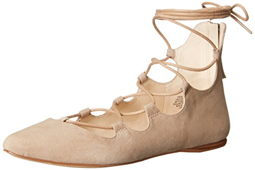 Nine West Signmeup scamosciata Ballerine Dark Natural