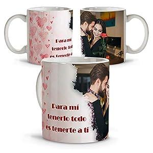 LolaPix Taza con Foto Personalizada.
