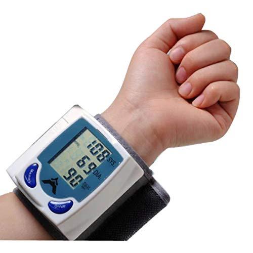 Divinezon Bluestone Automatic Wrist Blood Pressure Monitor with Digital LCD Display Screen- BP