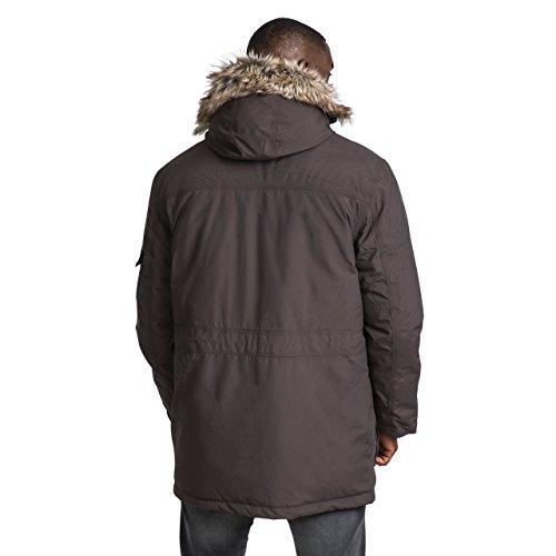 41ZPQZzBWPL. SS500  - Trespass DLX Highland Mens Down Parka Jacket