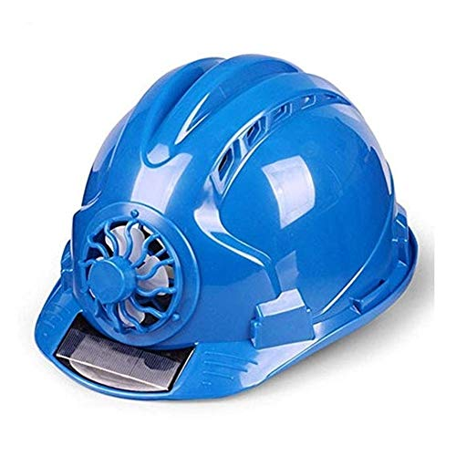 Weiblich Kostüm Bauarbeiter - WYNZYSLBD Schutzhelme Bauarbeiterhelm, Schutzhelm, Sehr Leichter Bauarbeiterhelm Bauarbeiterhelm Mit Belüftung (Color : Blue)