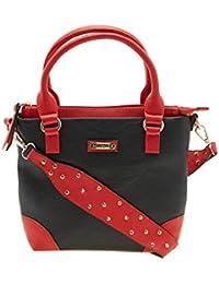 ESBEDA Brown Color Solid Pu Synthetic Material Handbag For Women