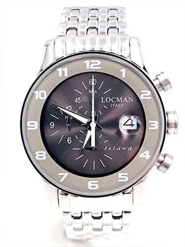 orologio locman island ref620 acciaio crono