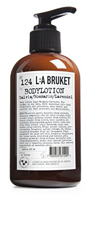 L:a Bruket No.124 Body Lotion ,Sage / Rosemary / Lavender, 250 ml - Lavender Body Care Lotion