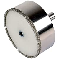 Wolfcraft 8911000 1 Trépan Diamant Ceramic Ø 68 Mm, Queue Ø 10 Mm avec Foret de Centrage