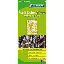 Carte ZOOM Foret Noire, Alsace, Vallee du Rhin