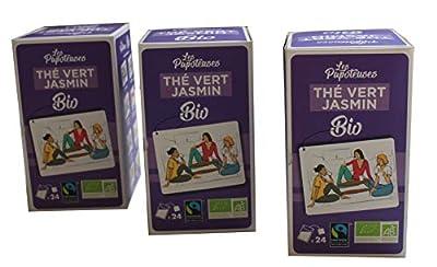 Thé vert au jasmin BIO - 24 sachets - Lot de 3