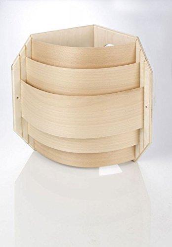 Eliga Blendschirm mit Spanstreifen für Eckmontage für Sauna Leuchte